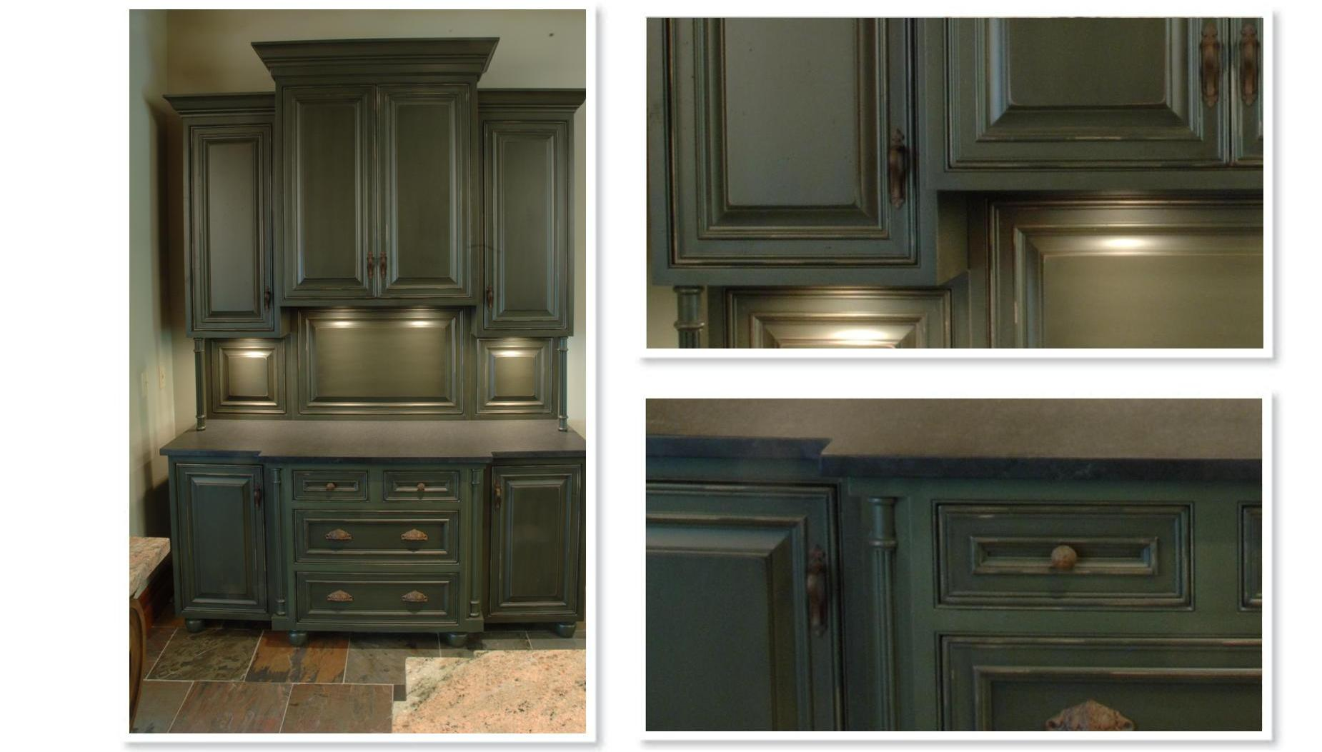 Kitchen Cabinets Olive Green