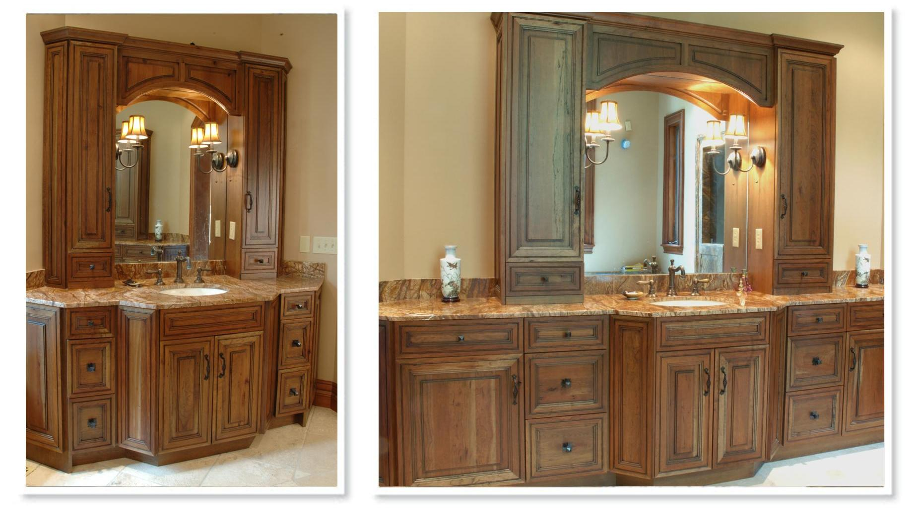 Knotty Cherry Cabinets http://beckallencabinetry.com/portfolio/bathroom/14-2/