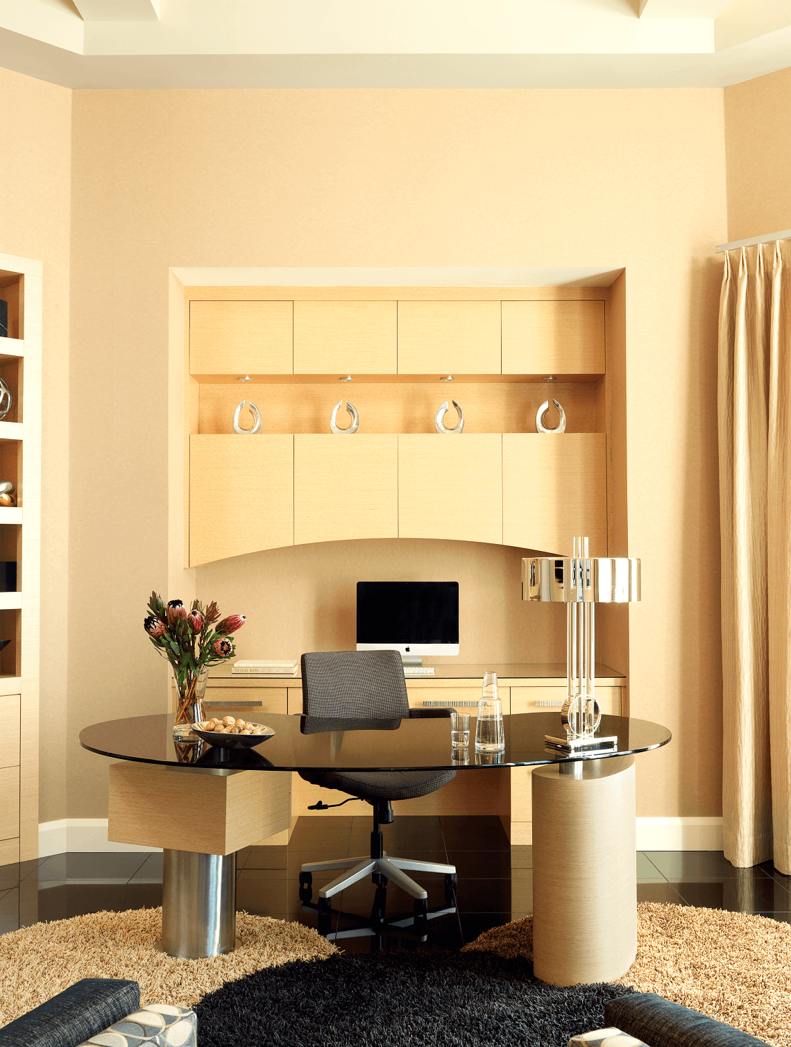 Contemporary Home Office - Custom Cabinetry - Beck/Allen Cabinetry in St. Louis, MO