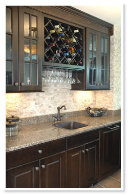 Home bar cabinetry custom wet bar beck allen cabinetry beck allen cabinetry - Home wet bar ideas ...