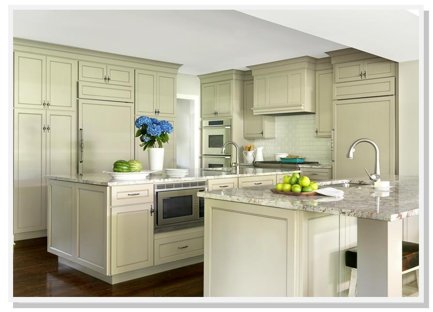 Classic Kitchen Cabinets a classic kitchen | beck/allen cabinetry