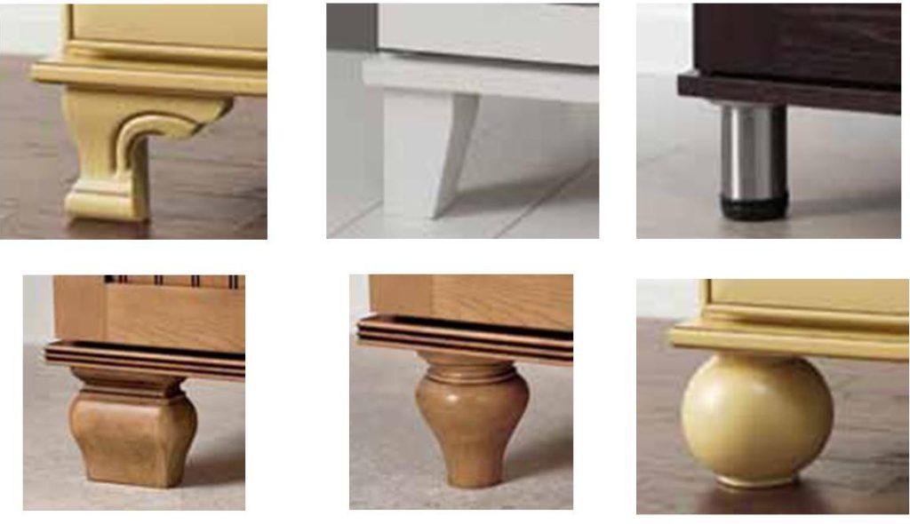 MC Furniture Foot Options