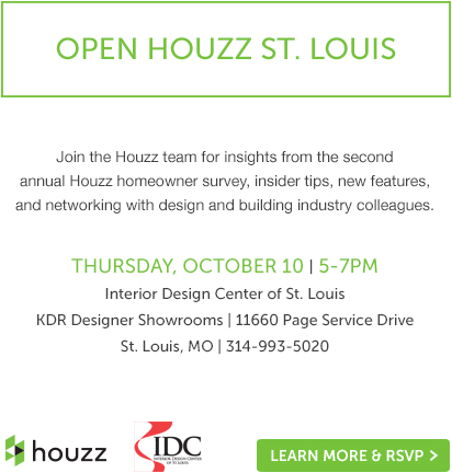 Open Houzz St. Louis at the IDC