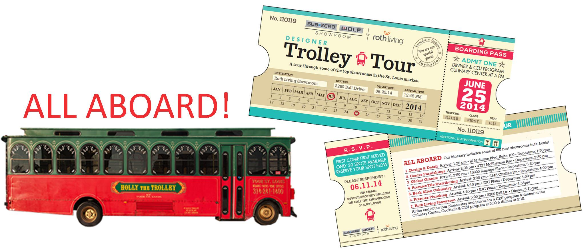 Designer Trolley Tour