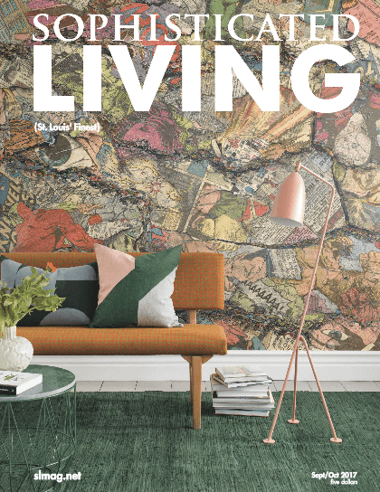 Sophisticated Living Magazine featuring Beck/Allen Cabinetry
