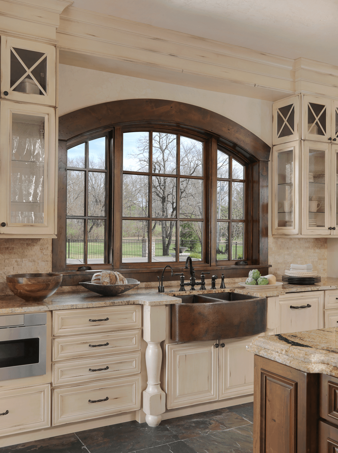 Old World Inspired Kitchen Beck Allen Cabinetry