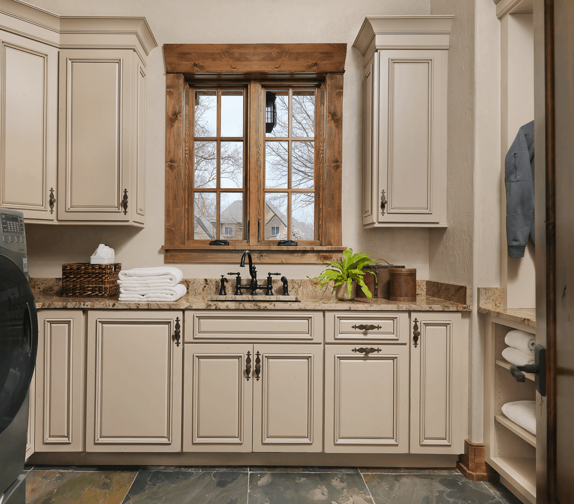 Rustic Laundry Room Design