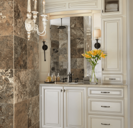 An Elegant Master Bathroom