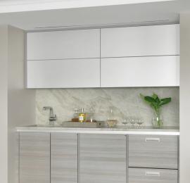 Modern Wet Bar / Open to Living Room