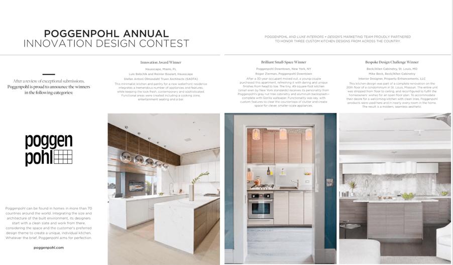 Poggenpohl Design Contest