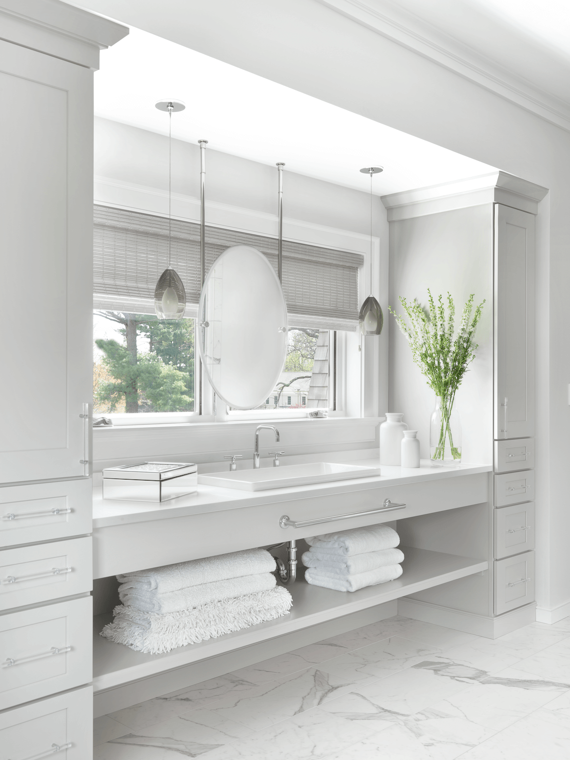 Transitional Bathroom Design - Beck/Allen Cabinetry