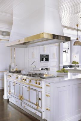 La Cornue Range and Hood