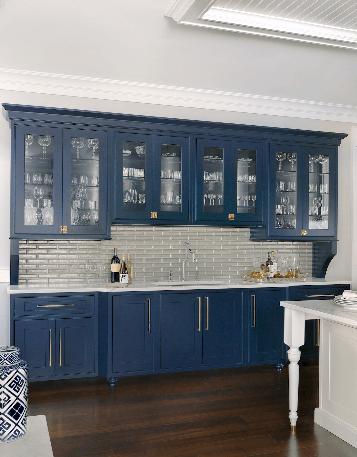 Custom Home With East Coast Style Beck Allen Cabinetry