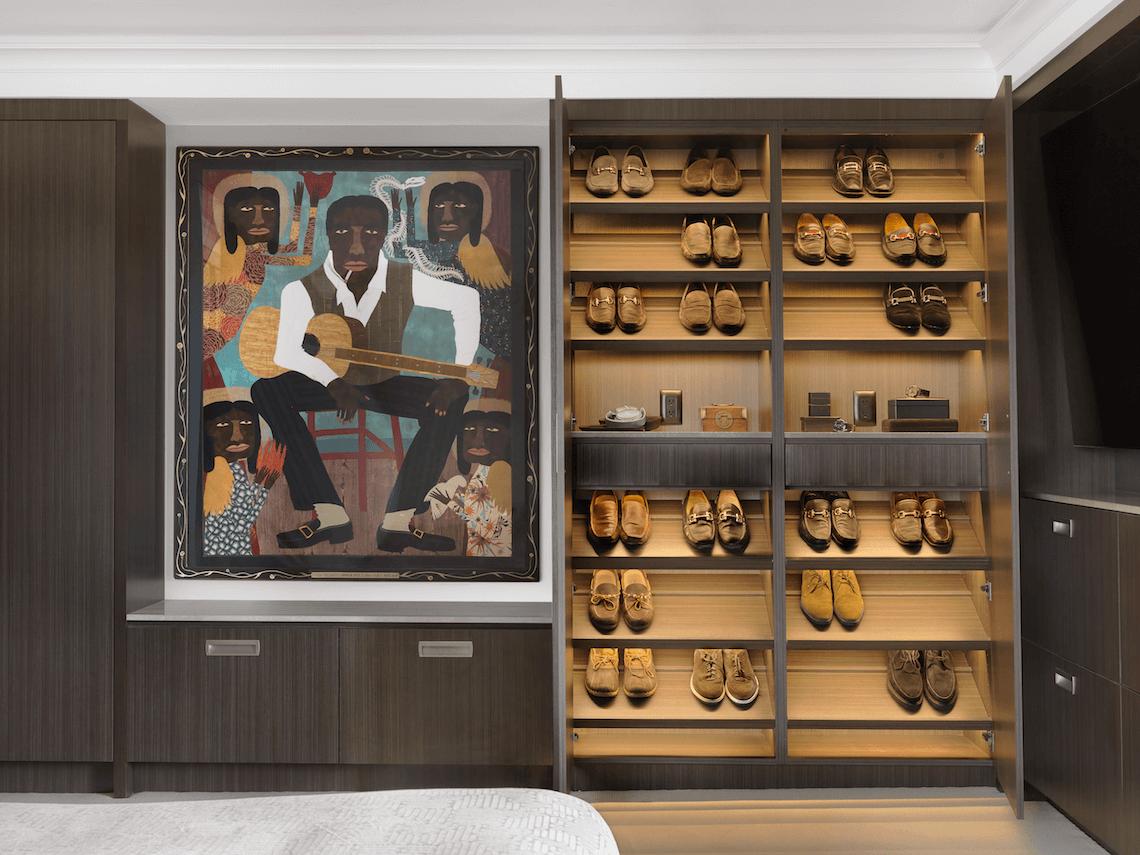 Custom Shoe Closet