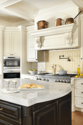 Range Hood in a Traditional Kitchen
