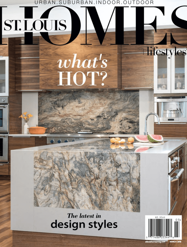 March Issue of St. Louis Homes & Lifestyles