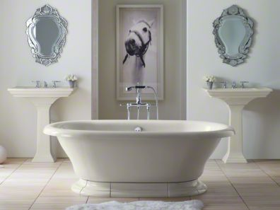 Vintage Freestanding Bath By Kohler