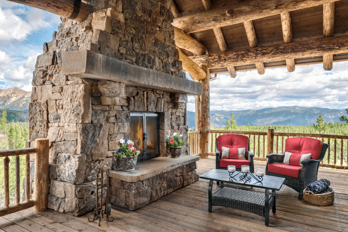 Mountain Living In Big Sky Montana Beck Allen Cabinetry