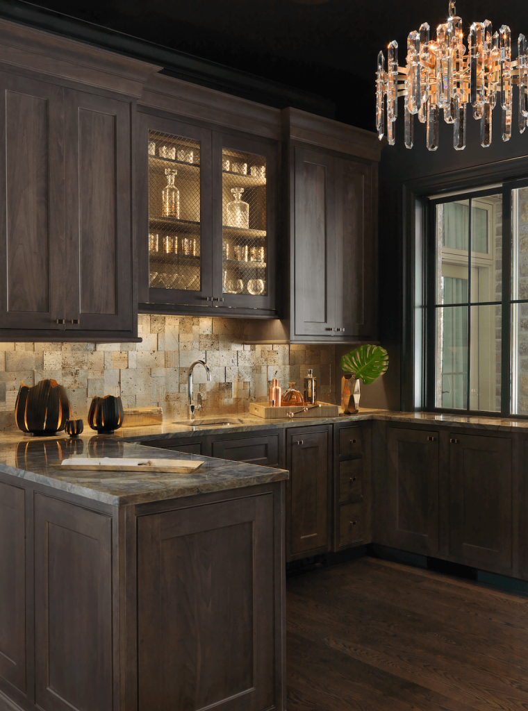 Custom Home Bar Designs - Beck/Allen Cabinetry