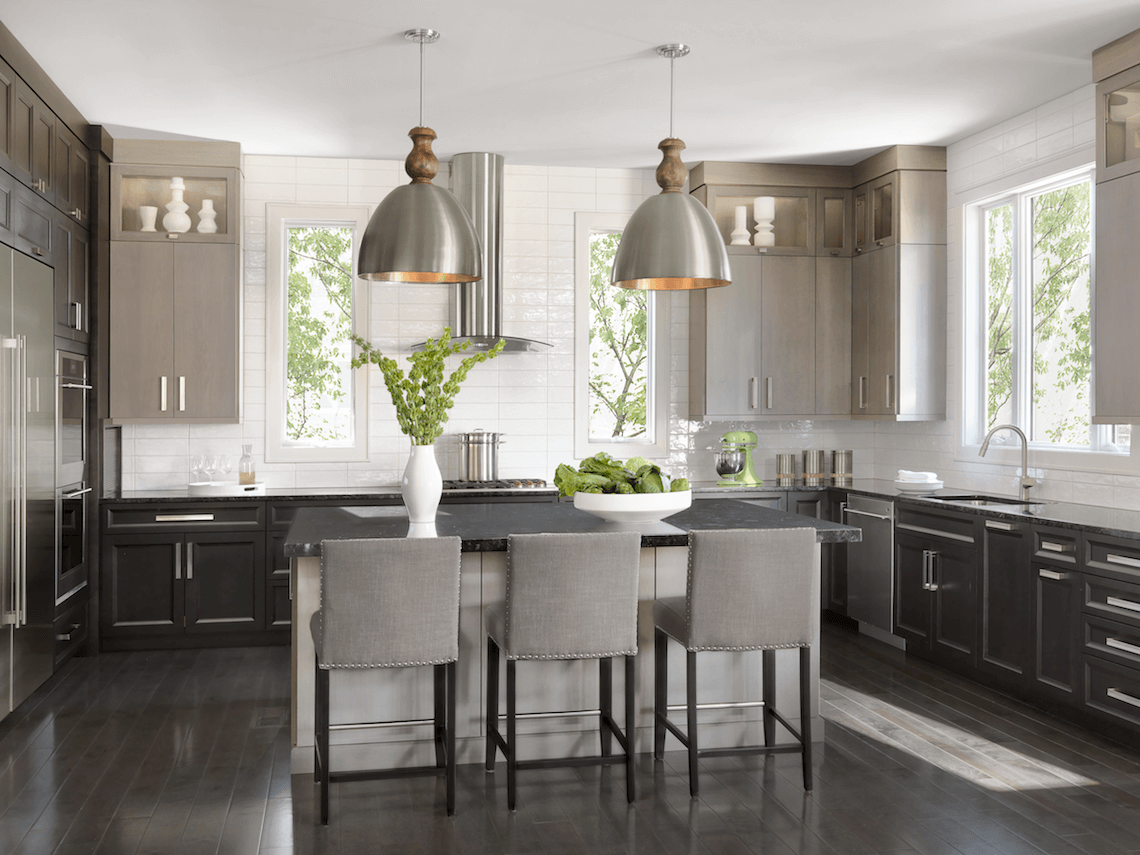 Contemporary Kitchen Beck Allen Cabinetry