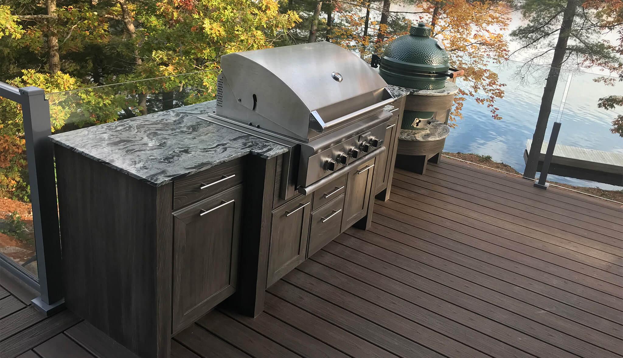 Outdoor Kitchen Design Beck Allen Cabinetry